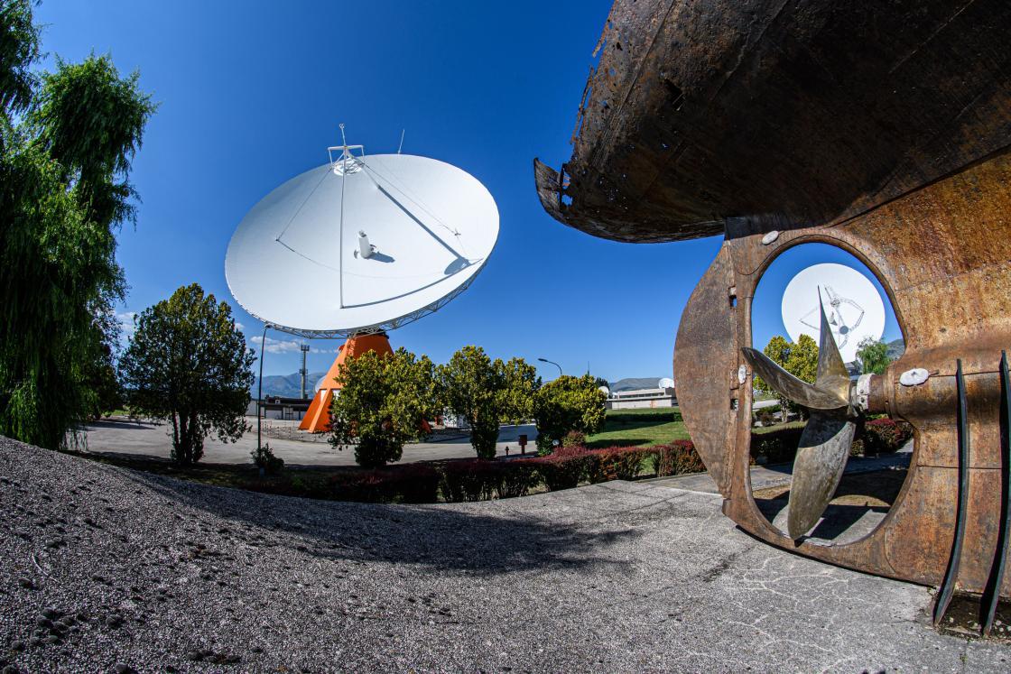 Centro spaziale del fucino credits: telespazio.com