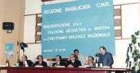 1983-1985 Telespazio under the auspices of CNR and ASI establishes the Matera Space Centre for Geodesy Operations