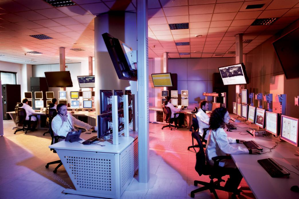 Main Control Room - Galileo Control Centre